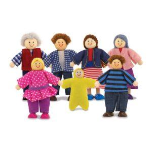 кукольная семья набор мелисса даг
