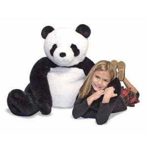 панда мягкая игрушка melissa & doug
