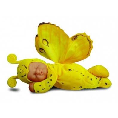 детки бабочки желтые
