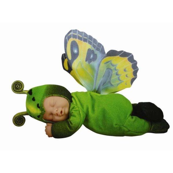 детки бабочки зеленые