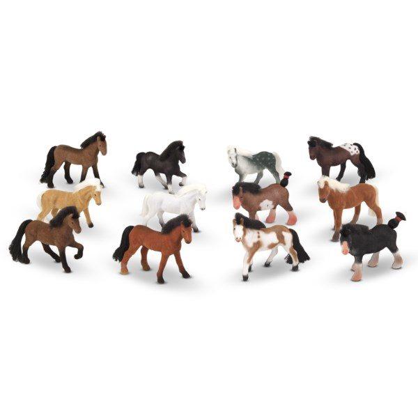 набор игрушечных лошадок melissa doug