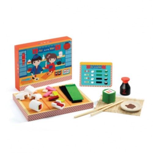 игровой набор продуктов суши djeco