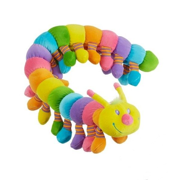 мягкая игрушка гусеница мелисса даг