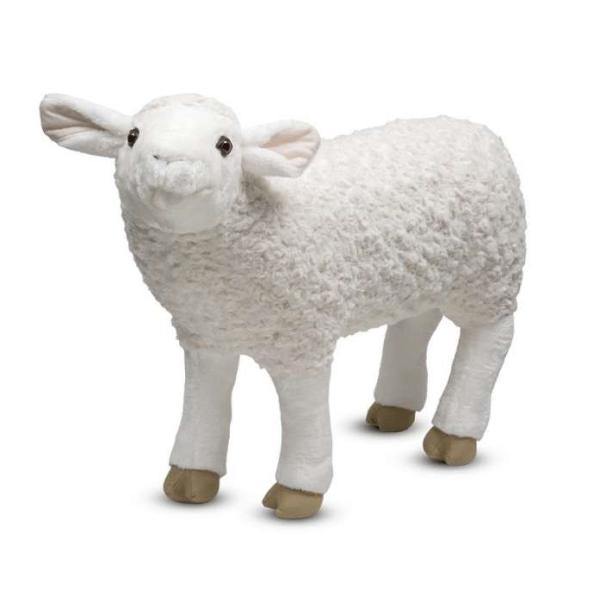 мягкая игрушка овечка melissa & doug