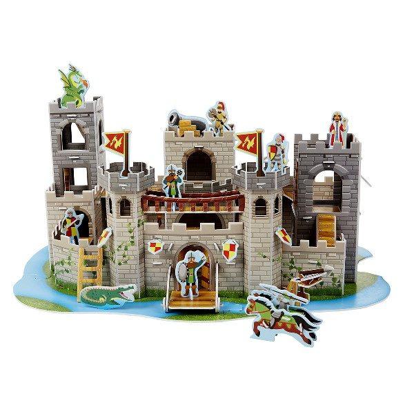 3д пазл рыцарский замок