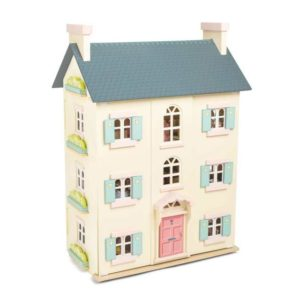 большой деревянный кукольный дом Вишневое дерево Ле той ван