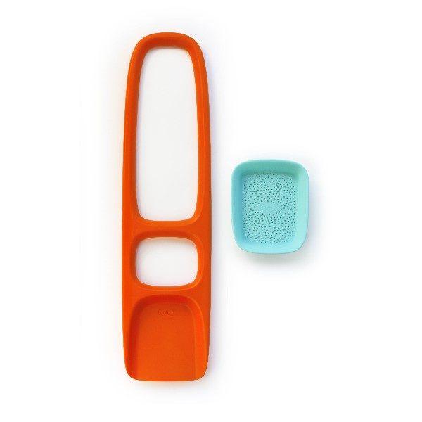 лопата оранжевая