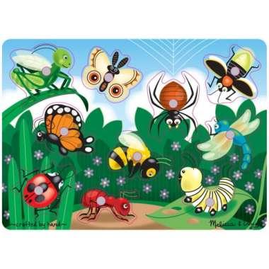 деревянная игра ловля насекомых
