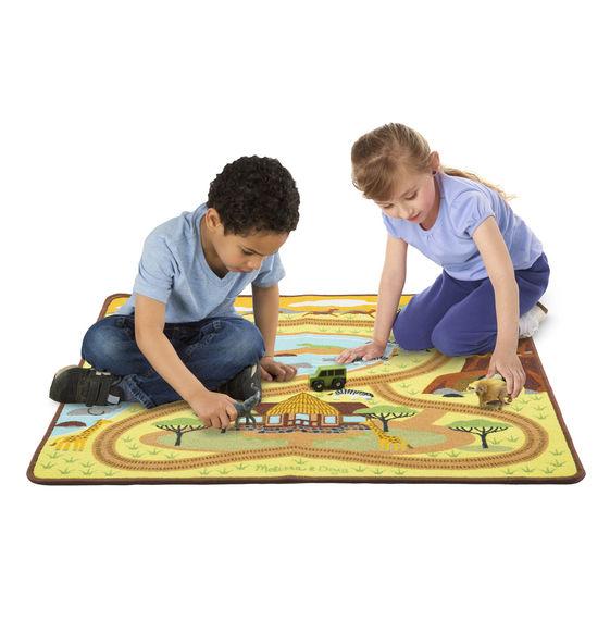 детский коврик для игры 9428