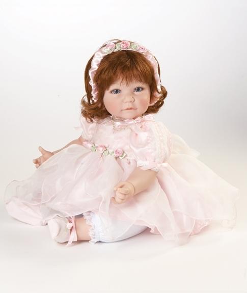 кукла адора розовые лепестки