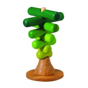 деревянная пирамидка дерево plan toys
