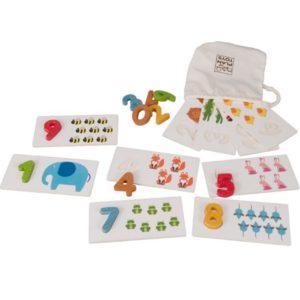развивающая игра с карточками plan toys