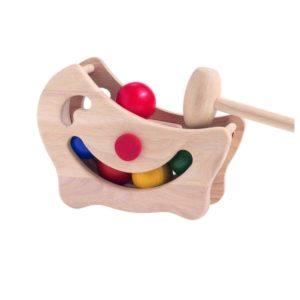 игрушка горка с шарами plan toys