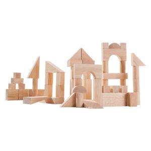 деревянные кубики 50 шт plan toys