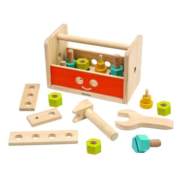 набор инструментов робот plan toys