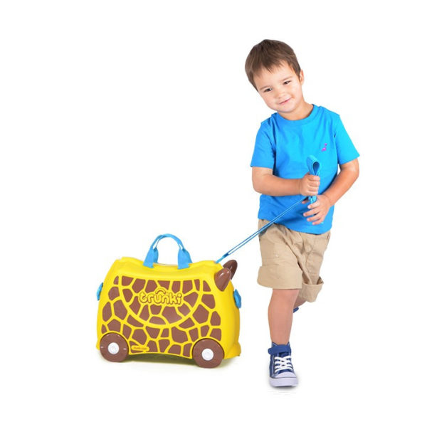 чемодан детский жираф