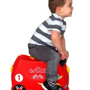 чемодан для мальчика машина