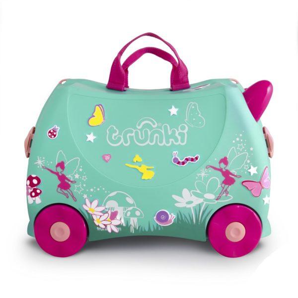Детский чемодан на колесиках транки