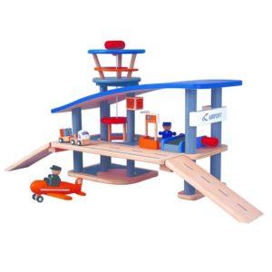 игровой набор аэропорт plan toys