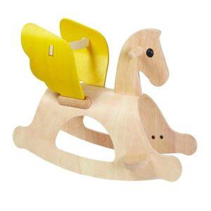 деревянная качалка лошадь пегас plan toys