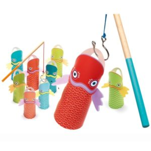 развивающая игра рыбалка djeco