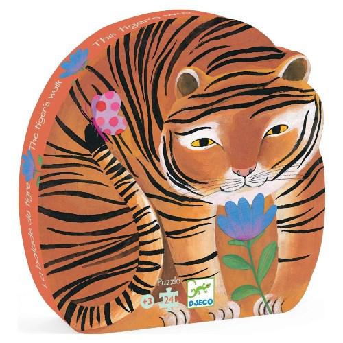пазл тигр джеко