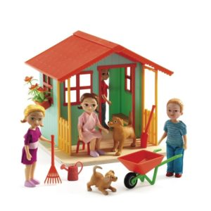 игровой набор садовый домик djeco