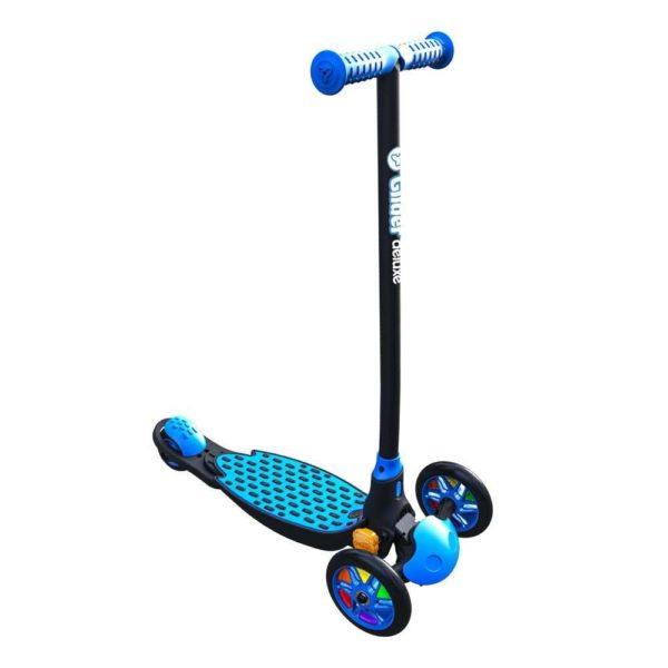самокат Glider Deluxe yvolution синий