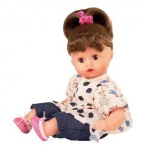 кукла маффин мягконабивная шатенка