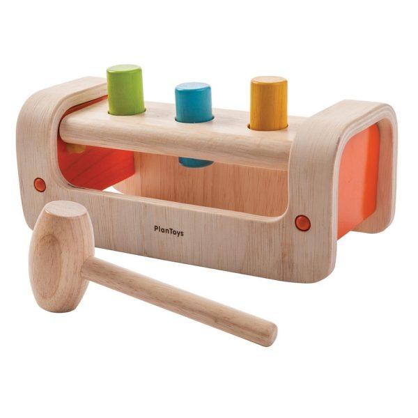 забивалка для детей plan toys