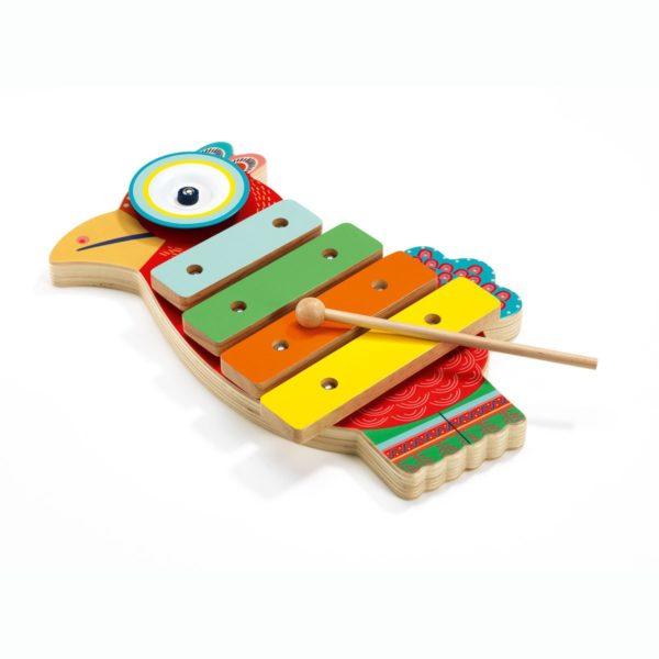 ксилофон петушок djeco