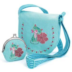 сумочка с кошельком djeco