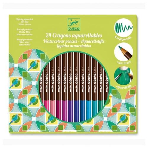 акварельные карандаши джеко