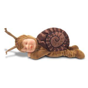 Анне геддес кукла детки улитки коричневый