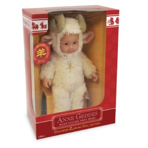 Анне геддес кукла детки овечки