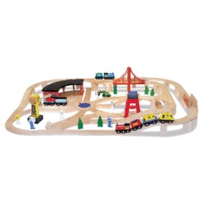 железная дорога большой набор мелисса даг